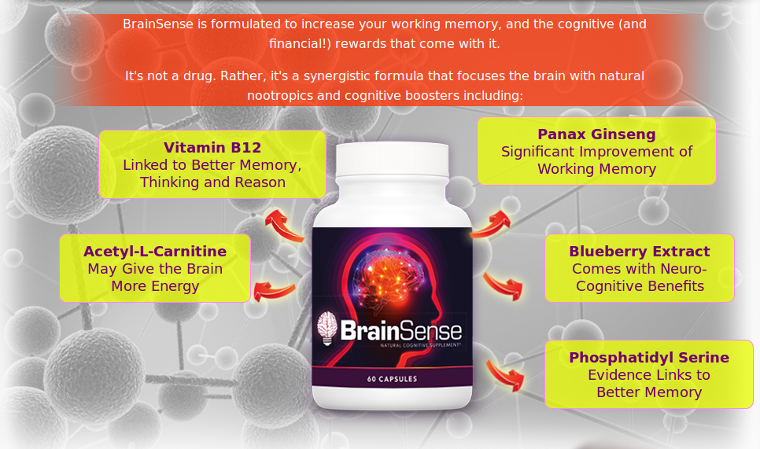Brain Sense Ingredients